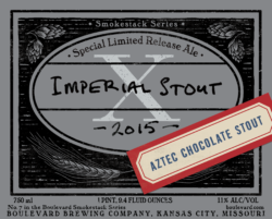imperial stout x aztec chocolate