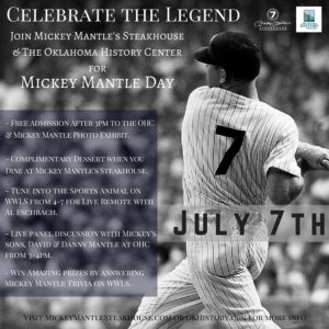 Mickey Mantle Day July 7th