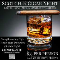 Scotch & Cigar Tasting