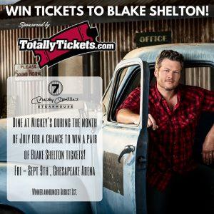 Win Blake Shelton Tickets!