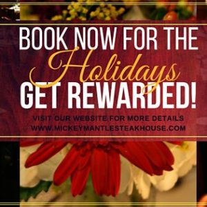 Holiday Party - Reserve Now