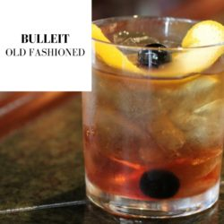 Bulleit Bourbon Old Fashioned