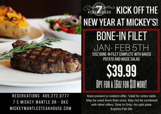 new year bone in filet