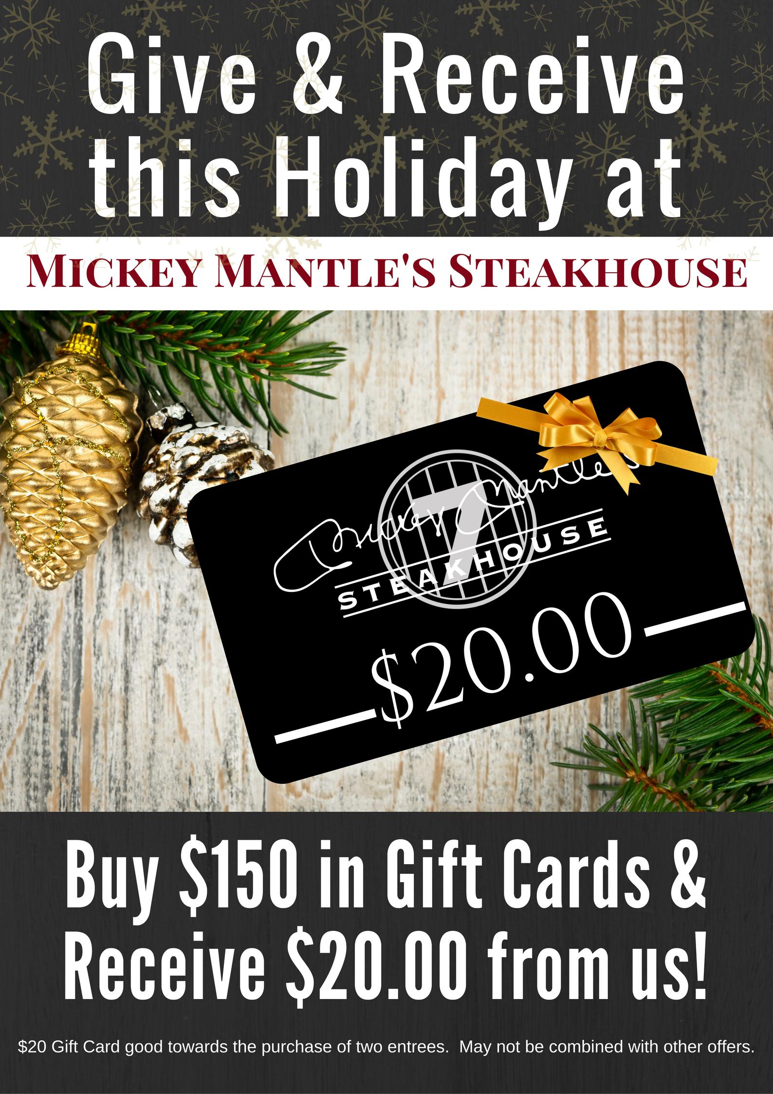 Gift Card - Restaurant OKC