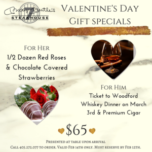 Valentine's Day Lunch & Dinner