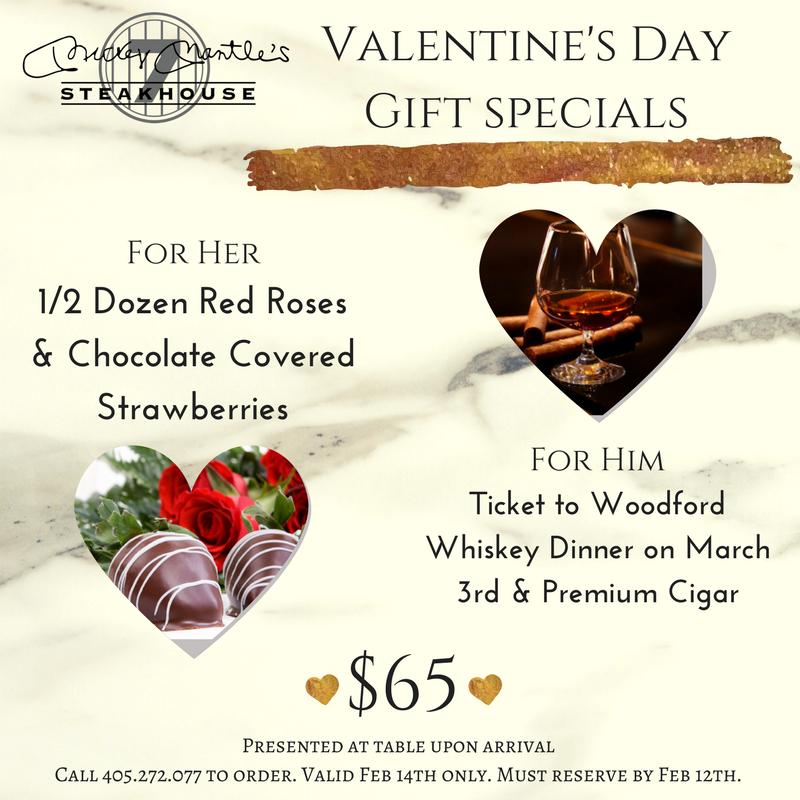 Valentines Day Dinners: Valentine's Day Lunch & Dinner Bricktown OKC