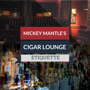 Cigar Lounge Etiquette: 4 Tips to Smoke in Style