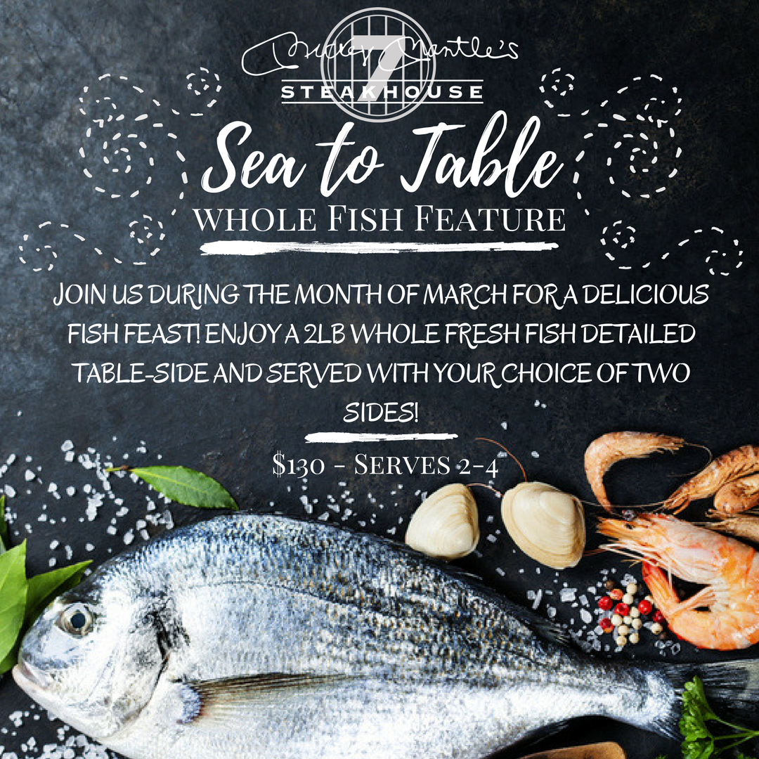 Sea To Table - Seafood - Fine Dining Steakhouse OKC