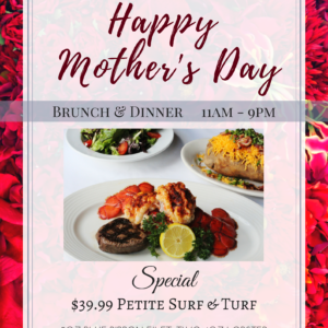 Brunch Dinner Mothers Day OKC