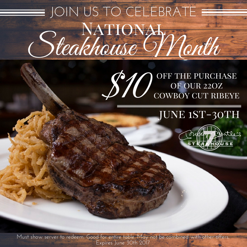 National Steakhouse Month