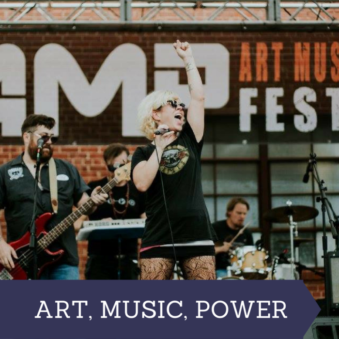 Art. Power. Music. Festival OKC Stage Performer