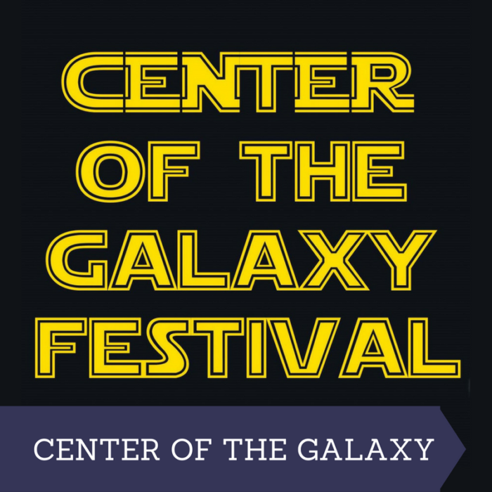 Center of the Galaxy Festival Logo