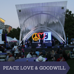 Peace Love and Goodwill Festival Myriad Gardens