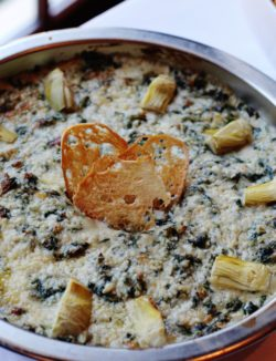 Holiday Party Appetizer Spinach Dip