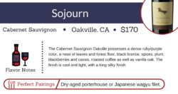 sojourn cabernet sauvignon mickey mantles