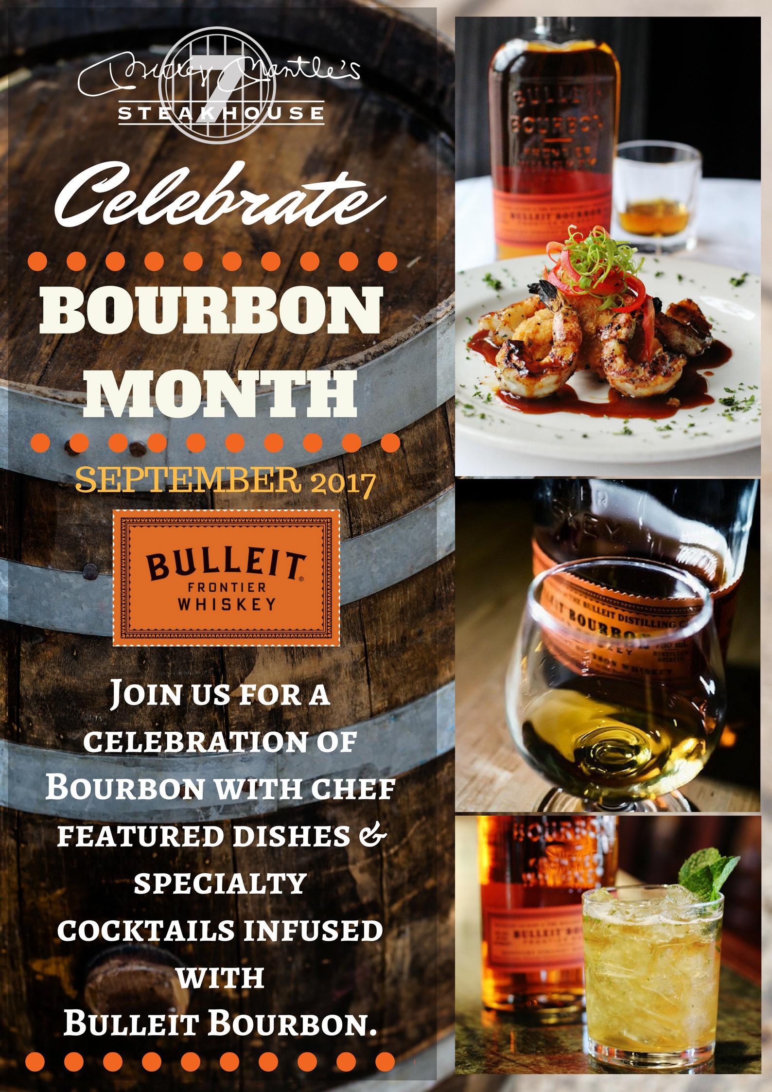 Bourbon Month 2017