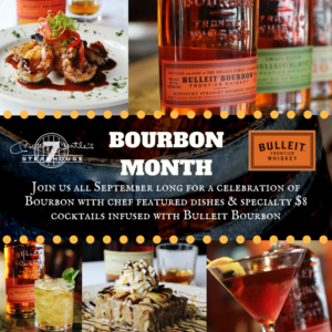 September is Bourbon Heritage Month!