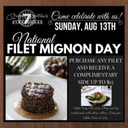 National Filet Mignon Day