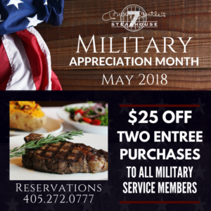 Military Month at Mickey's!
