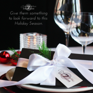 Book now for the Holidays - Get Rewarded!