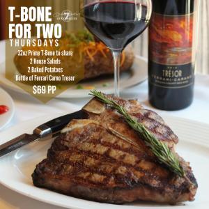 T-Bone for Two Thursdays