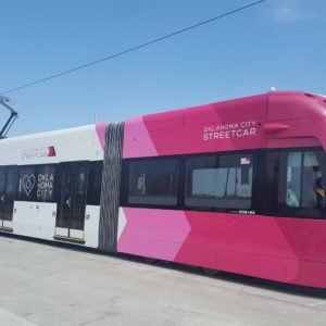Arrive at Mickey's on the OKC Streetcar!